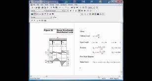 Beam Design Formulas Mathcad Beam Design Formulas 22
