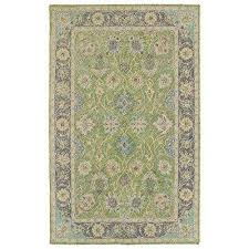 weathered lime green 5 ft x 8 ft indoor outdoor area rug