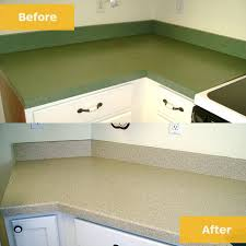 before after countertops green