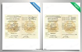 Birth Certificate Translation Sample Russian Images Best Photos Of