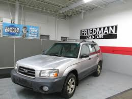 2005 SUBARU FORESTER 2.5X for sale at Friedman Used Cars   Bedford ...