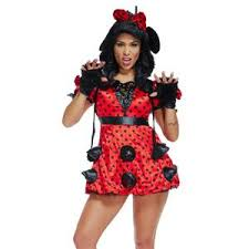 Sexy Miss Mouse Costumes, Lovely Mouse Costume, Sexy Mini Dress Costume,  Polka Dots