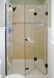 bi fold shower door tri fold glass shower doors