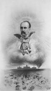so what s new in the past the multiple meanings of medical caricature of sir william osler above johns hopkins hospital as an angel