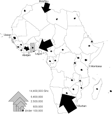 Urban geography mapping the invisible and real african economy urban e waste circuitry