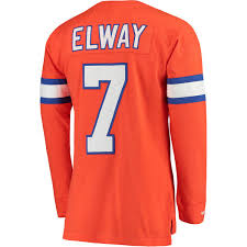co Throwback Orange - Denver Jersey Imagez Broncos Elway Ness John Mitchell