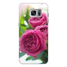 "Чехол для Samsung Galaxy S7 Edge, объёмная печать ""<b>Розовые</b> ..."
