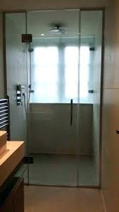 tempered glass bathroom window frosted
