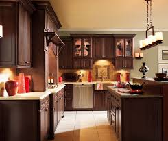 dark maple cabinets. Exellent Maple Dark Maple Kitchen Cabinets By Decora Cabinetry  And Cabinets O