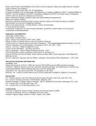 executive intelligence analyst resume template   page executive intelligence analyst resume page