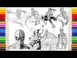Videos for kids.#spiderman #spidermancoloringpages #coloringbook. Spider Man Coloring Book Spider Man 50 Plus Videos Coloring Pages Youtube