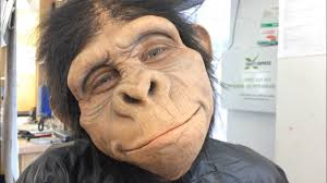 my pet monkey prosthetic makeup application