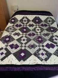 Black, White and Purple Quilt! &  Adamdwight.com