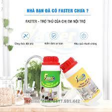 TIẾT KIỆM) Combo Nước Tẩy Dầu Mỡ Nhà Bếp, Vệ Sinh Bếp Gas, Vệ Sinh Máy Hút  Mùi Siêu Mạnh Faster CO 250 ml giá cạnh tranh