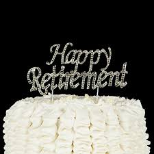 Retirement Cake Toppers Shop Retirement Cake Toppers Online