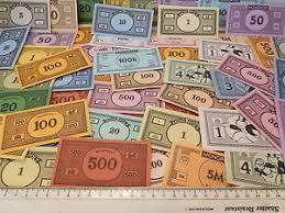 spare Styles Money Different craft replacements Monopoly Notes Details About 50