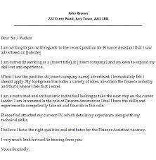 mortgage advisor cover letter