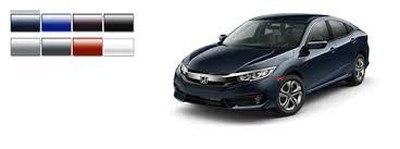 Honda Civic Color Code Chart Honda Civic Color Options 2016 Autonation Honda Roseville