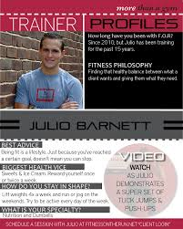 full hd personal trainer bio template android julio barnett s bio and schedule a personal training session