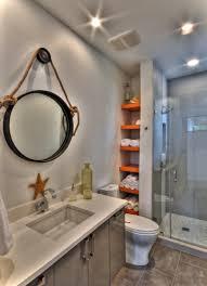 Beautiful Small Bathroom Design Ideas For Studio Apartment : Simple Small  Bathroom With Creative Storage Units