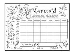 Mermaid Reward Chart Ichild