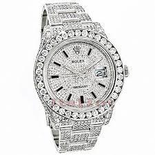 rolex datejust mens custom diamond watch 25 20ct iced out polyvore rolex datejust mens custom diamond watch 25 20ct iced out