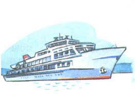 Междугородный транспорт наземный водный и воздушный Правила  Речной теплоход водный транспорт