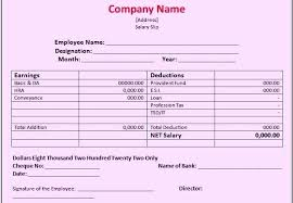 Payroll Template Excel India