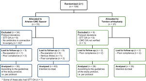 Flow Chart Of Patients With Cmc I Osteoarthritis Oa