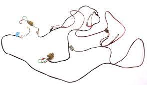 Front speaker radio wiring harness plugs 81 84 vw rabbit jetta pickup mk1