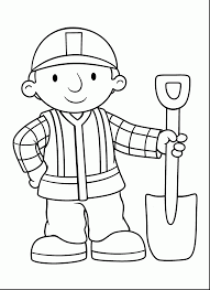 Small Picture Bob the Builder Coloring Pages coloringsuitecom