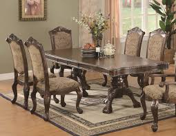 Traditional Dining Room Table Andrea Traditional 5 Pc Dining Set Table And 4 Chairs Excellent