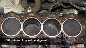Peugeot/Citroen TU Head Gasket Replacement - YouTube