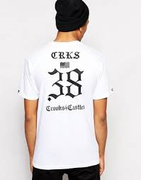 Футболка <b>Crooks & Castles</b> The Motto | ASOS