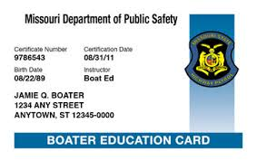 Course amp; Boating License Missouri Safety Ed® Boat