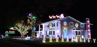 Christmas Night Light Show Carter Christmas Lights Show Albert Lea Minnesota