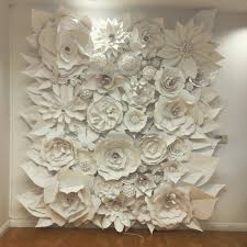 Flower Wall 3d Paper Flower Wonder Wall Collection And Sculptures Art People