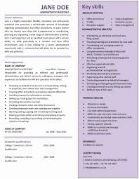 Administrative Assistant Resume Samples Admin Resume Samples Awesome Cv format for Admin assistant Resume 36