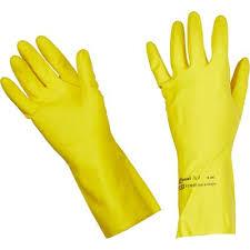 <b>Перчатки</b> резиновые <b>Vileda</b> Professional Контракт желтые ...