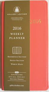 get ations 2016 gallery leather sweet pink cartier paper weekly pocket planner size 6 25 x