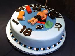 Simple 18th Birthday Cake Designs Ideas Classic Style