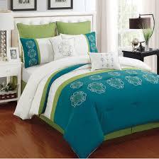 c and turquoise crib bedding