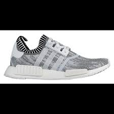 adidas shoes nmd black and white. adidas originals nmd r1 primeknit - men\u0027s running shoes white/white/ black nmd and white 2