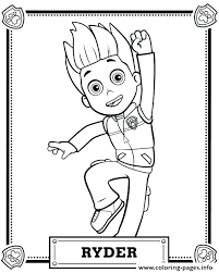 Cool Inspiration Paw Patrol Free Coloring Pages Colouring Chase