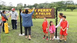VIDEO: Buddy Perry Soccer Field Named In Emotional Event