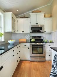 White Cabinets With Black Countertops Design Ideas