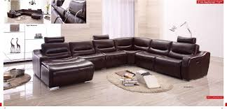 Cow Genuine Real Leather Sofa Set Living Room Sectional Corner In