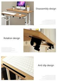 portable office desk. Promotion Portable Adjustable Simple Notebook Computer Desk Office Laptop Table