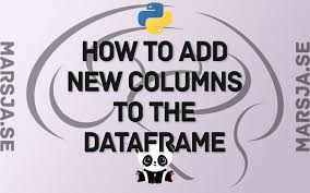 adding new columns to a dataframe in