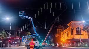 Mallop Street Catenary Lighting